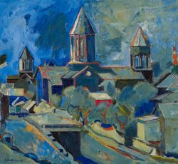 """A church in Leninakan, B. Grigoryan (1975)"